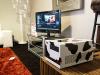 Multimedia Cow im Wohnzimmer
